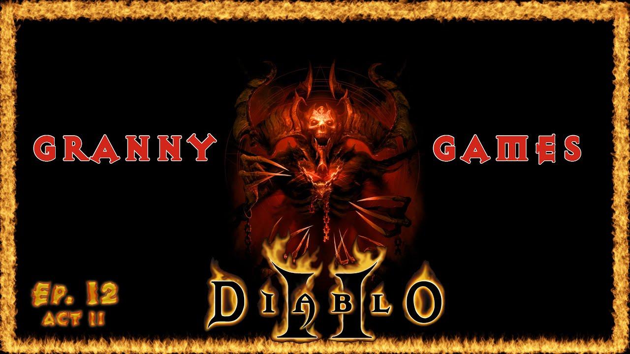 Granny Mildred Finds the Horadric Cube: Diablo 2 – Granny Games Ep. 12