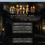 Single player Diablo 2 chat with friend indoors