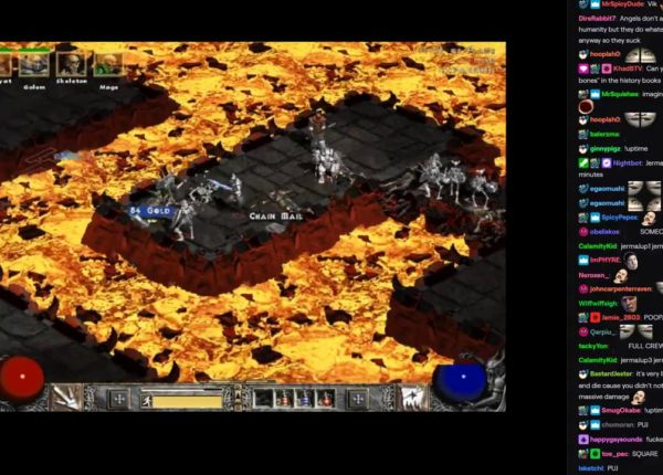 Jerma Streams [with Chat] - Diablo II (Part 3)