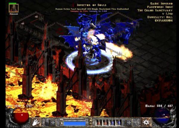 Diablo II: Inferno/Nova sorceress a.k.a New Levels of Masochism