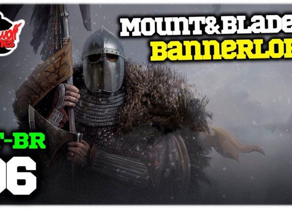 Mount & Blade 2 Bannerlord #06 - Grande Batalha e Melhorias - Gameplay em Português PT-BR