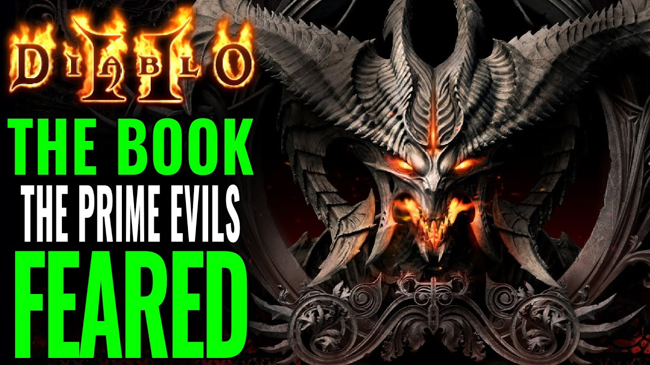 Diablo 2: The Book the Prime Evils fear  - the Tome of Lam Esen