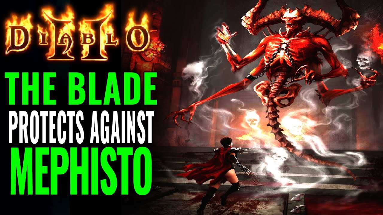 Diablo 2: The Source of Mephisto's Corruption & The Protective Blade of the Old Religion