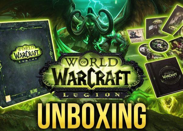 Распаковка: World of Warcraft: Legion - Коллекционное издание