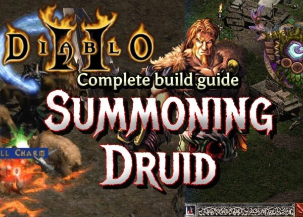 Summon Druid Clears Uber Diablo Easy - Full Build and Tutorial - Diablo 2