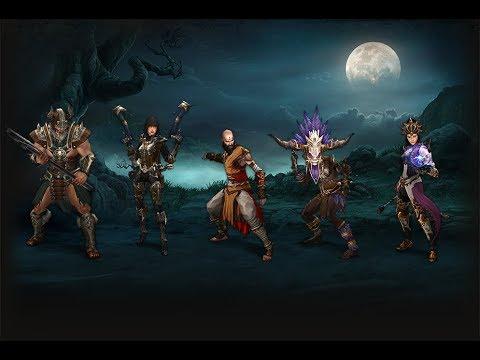 Diablo III. PS4 на двоих ЧАСТЬ# 1 Консоль 2 геймпада. Возвращение некроманта