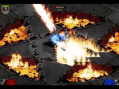 Diablo 2 LOD Expansion: Fighting each 1-5 Act FInal Bosses