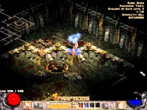 Diablo 2: Lord of Destruction: Level 91 Paladin Gameplay