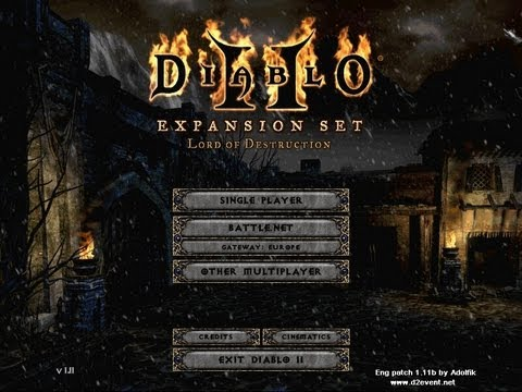 How to Fix & Play Diablo 2 Lord of Destruction on Windows Vista, 7 & 10