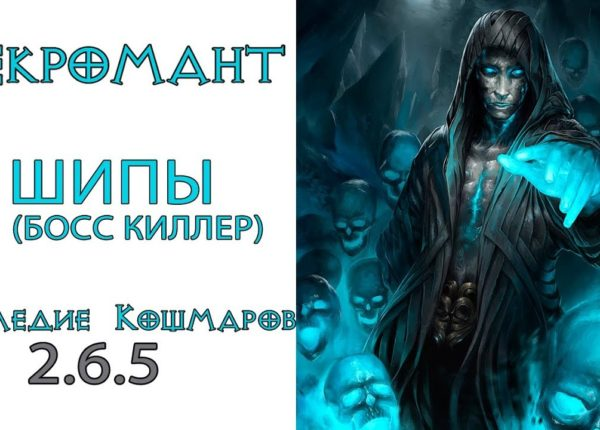 Diablo 3: ТОП Убийца боссов LoN Некромант Шипы в сете Наследие Кошмаров 2.6.5