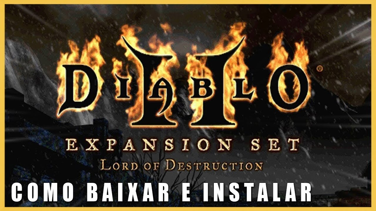 Como Baixar e Instalar Diablo 2 + Expansão Lord of Destruction Completo PC