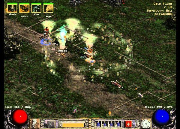 Diablo 2 lod challenge за друида #15 (Начало ада)