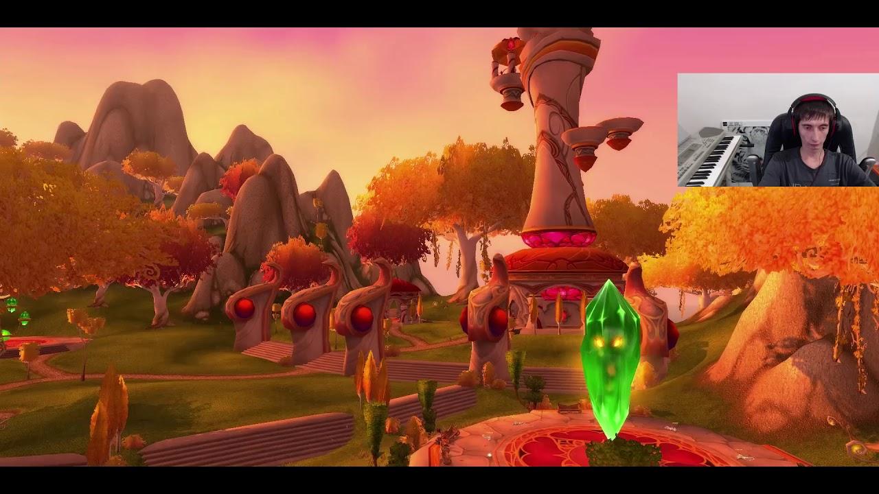≡1 WoW - Разбойник Эльфийка Крови 1-5 уровень / World of Warcraft / Ворлд оф Варкрафт