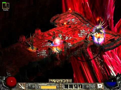 Diablo 2 Final Boss Battle - BAAL LORD OF DESTRUCTION