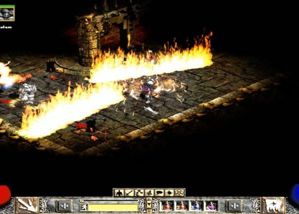 Прохождение Diablo 2: Lord of Destruction - 3 АКТ на Хардкоре - БОСС, 3 часть