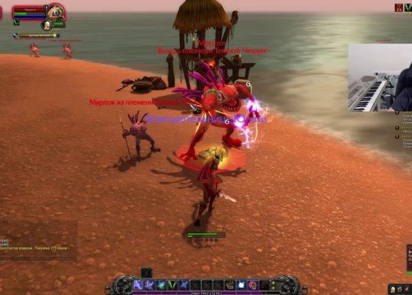 ≡4 WoW - Разбойник Эльфийка Крови 12-14 уровень / World of Warcraft / Ворлд оф Варкрафт