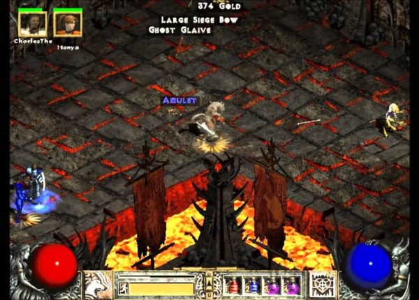Diablo 2 - Lord of Destruction - Pandamonium Event - Fury Druid vs Ubers & Uber Tristram