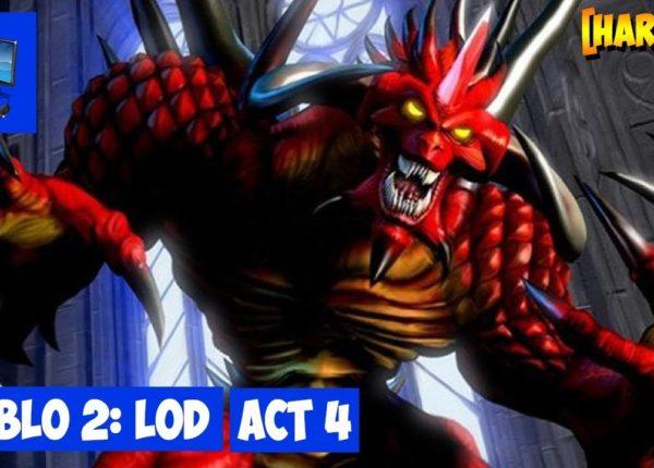 Стрим #353 Diablo 2: LoD ► Сюжетная компания. Акт 4