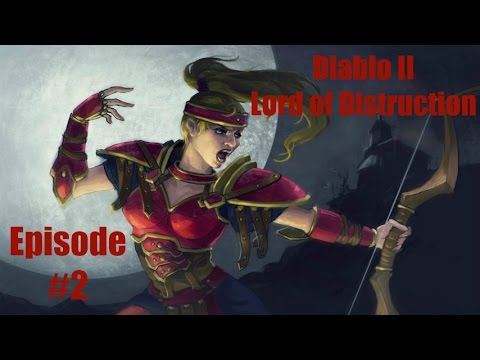 Diablo 2 LOD Amazon Bowazon Walkthrough - Part 2:The Blood Moors