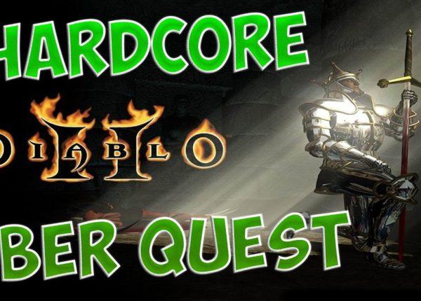 Diablo 2 LoD - Hardcore Uber Quest (Smiter)