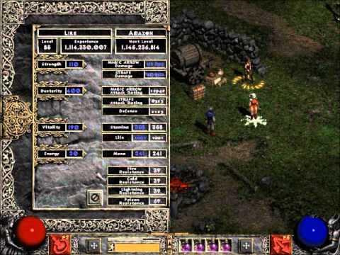 Diablo 2 LoD - Best Build Bow-zon.
