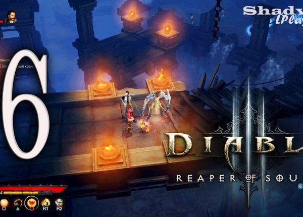 Diablo 3: Reaper of Souls (PS4) Прохождение #6: Гниющий лес и Затопленный храм