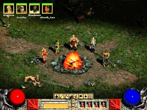 "Diablo 2: LoD (5-Player Co-op) Episode 1 - ""Act I Part I"""
