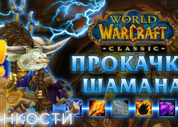 Гайд по прокачке ШАМАНА с 1-60 уровень в World of Warcraft: Classic | Shaman Leveling Guide