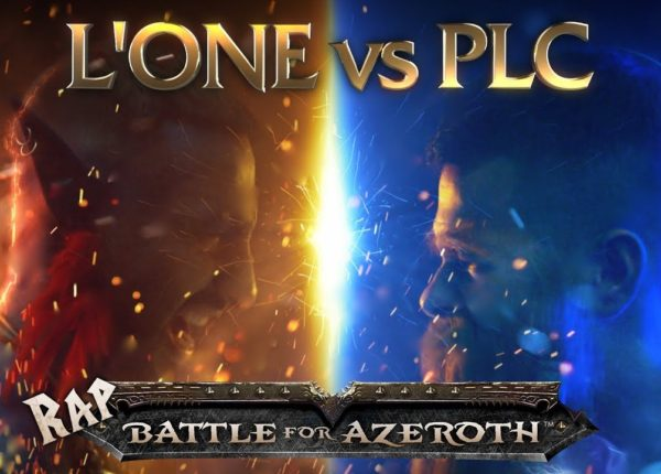 L'ONE VS. PLC - RAP BATTLE FOR AZEROTH