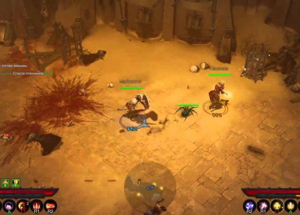 Diablo 3 PS4 2 player Играем вдвоем часть 2
