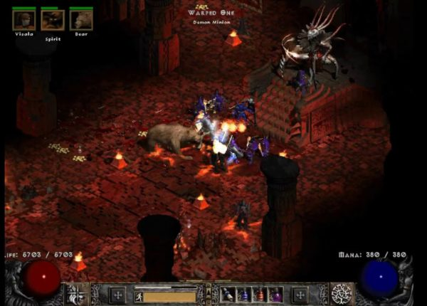 Act VI Hell with ShapeShifter Wolf Druid - Diablo 2