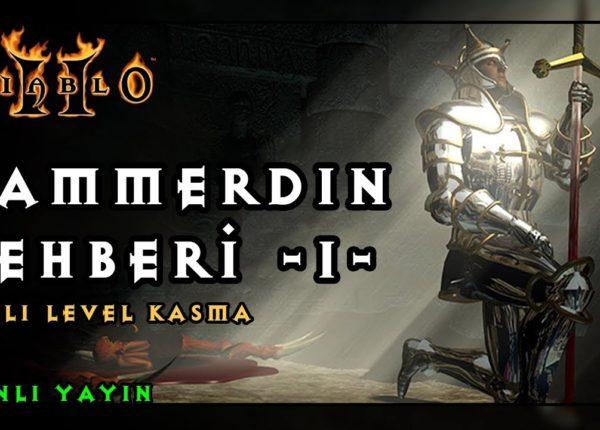 MF HAMMERDIN Hızlı Level Kasma - Diablo 2 Türkçe Paladin Rehberi - B1