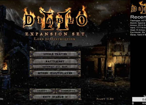 Diablo 2 - Plugy - Loot Management