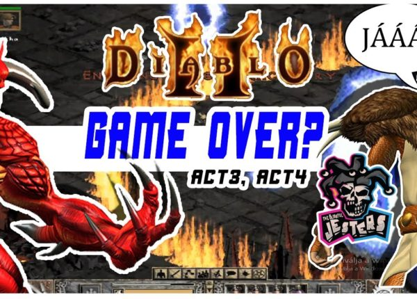 Diablo 2 Act3 és Act4, Diablo majdnem megszívatott!