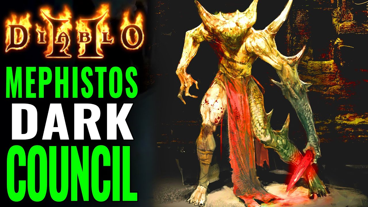 Diablo 2: The truth of Mephistos Demonic High Council & The Blackened Temple