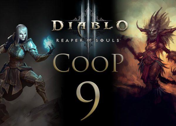 Diablo 3 Кооператив - Прохождение сюжета на русском - Запись стрима от 01.12.17 [#9] PC