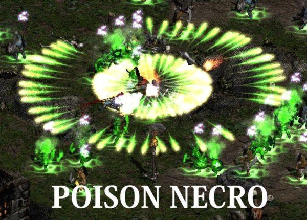 Diablo 2 - Мой МФ Пойзон (Ядовитый) Некромант - Билд / Гайд  (скиллы, шмот и т.д.)