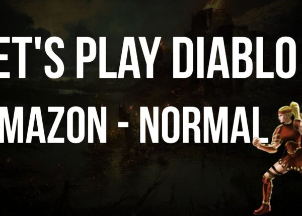 Let's Play Diablo 2 - Amazon Normal Difficulty