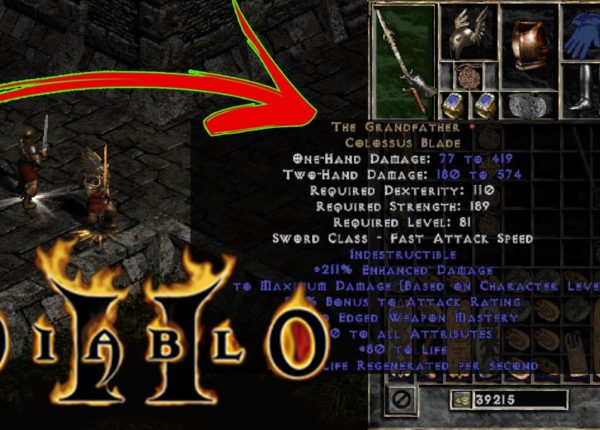 is THE GRANDFATHER Godly AF in Diablo 2??