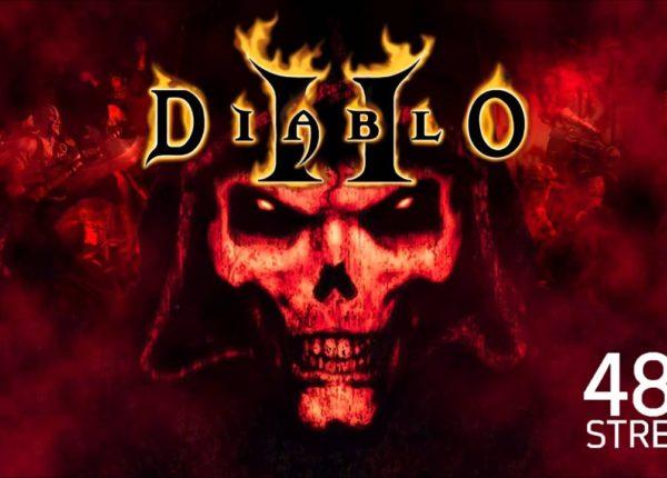DIABLO II IS ON!! MULTICOOP! :D #2   Diablo II #48hstream - 06.30.