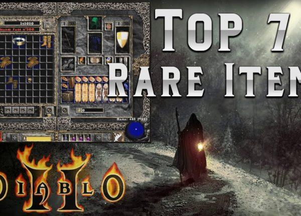 My Top 7 Solo Self found Rare items in Diablo 2