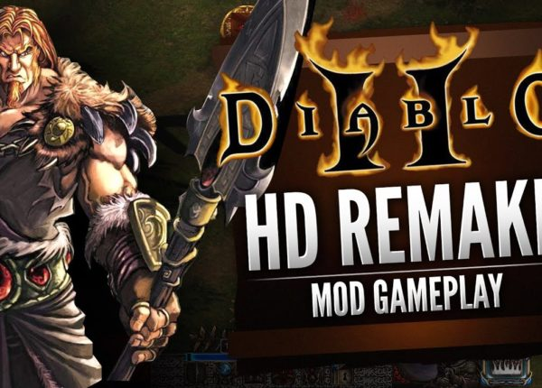 Diablo II HD Remake (Mod Gameplay)