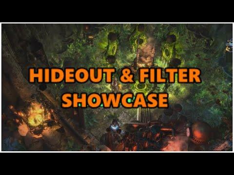 [PoE] Hideout showcase & Diablo 2 style filter (strict)