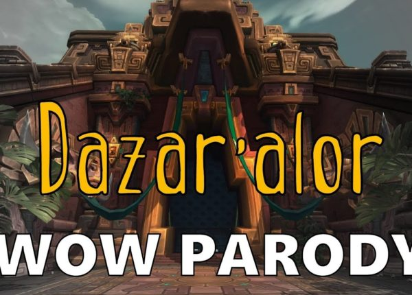 Sharm ~ Dazar'alor (World Of Warcraft Parody)
