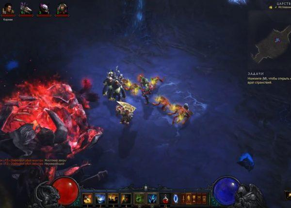 Diablo III Адское устройство Царство Ужаса.