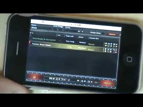 World Of Warcraft WoW on the iPhone real - no vnc