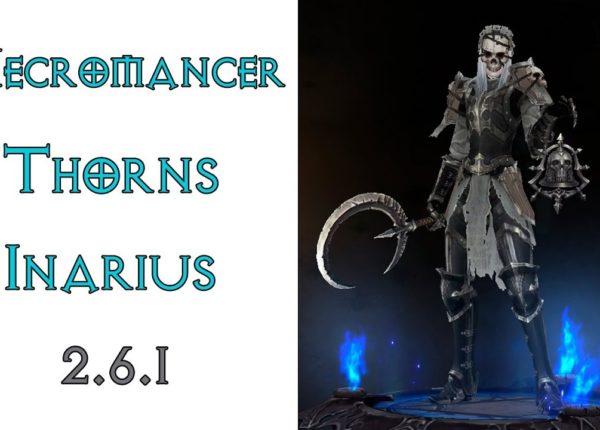 Diablo 3: ТОП шипованый некромант в сете Милость Инария 2.6.1