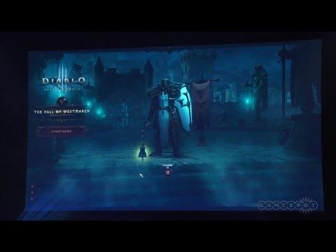 Diablo III: Reaper of Souls - Crusader Class Gameplay Demo