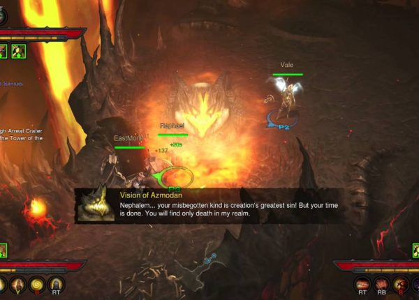 Diablo III: Ultimate Evil Edition - Xbox One gameplay
