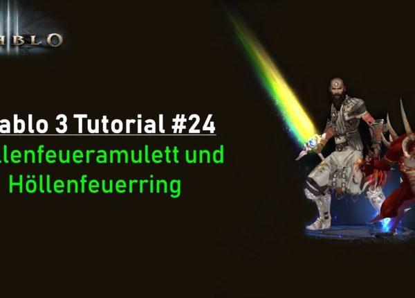 Diablo 3 Tutorial: Höllenfeueramulett und Höllenfeuering #24